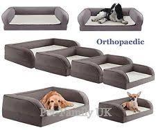 memory foam dog bed dog cushions u0026 beds ebay