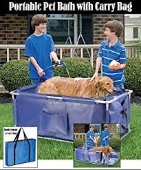 Bathtubs For Dogs Amazon Com Uarter Pet Bath Dog Shower Brush Cat Massager Shampoo