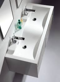 48 Double Sink Bathroom Vanity by Eviva Ashy 48