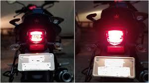 how emergency light works tail light vs brake light how it works in bike totalgyan