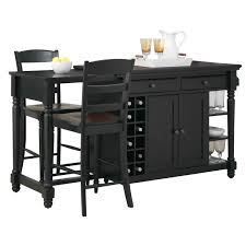 black kitchen island cart crosley black kitchen cart inspirations with beautiful island stools
