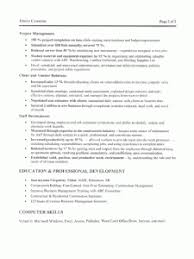 Construction Resume Builder Resume Examples Construction Resume Template Objective Contractor