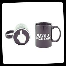 Best Mugs For Coffee | middle finger funny coffee mug best coffee mugs