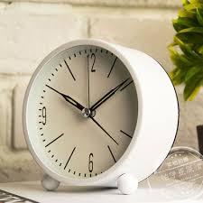 Small Desk Clock Aliexpress Buy European Metal Small Desk Clock Contracted