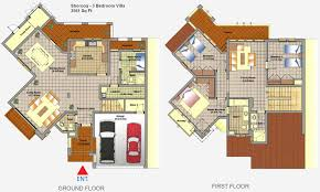 villa floor plans mirdif dubai floor plans