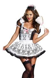 mayan halloween costume amazon com dreamgirl women u0027s maid to order dress black white