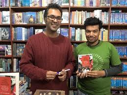 pilgrims book mr aditya adhikari left author picture of pilgrims book house
