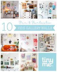 10 kids gallery walls tinyme blog 10 kids gallery walls
