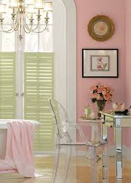 behr paint in sherbert fruit adds a pop of pastel color to your
