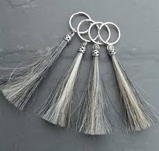sterling key rings images Duncan horse hair key chain in sterling silver jpg