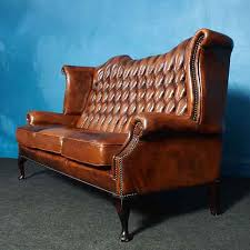 Chesterfield Sofa Vintage Vintage Wingback Chesterfield Sofa Superb Condition Unique