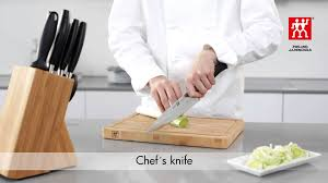 chopping technique when using a chef u0027s knife youtube