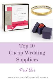 wedding supplies cheap the best cheap wedding supplies