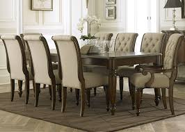 side chairs for dining room cotswold cinnamon rectangular leg dining room set from liberty