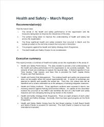 monthly health and safety report template hse monthly report ppt professional and high quality templates