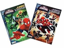 superhero coloring book marvel comics spiderman kids activity
