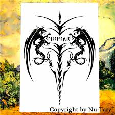 online get cheap demon tattoo flash aliexpress com alibaba group