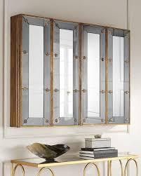 shutter tv wall cabinet gold mirrored tv cabinet