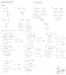 Solve And Graph The Inequalities Worksheet Solving Rational Equations
