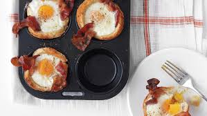 Bacon In Toaster Bacon Egg And Toast Cups