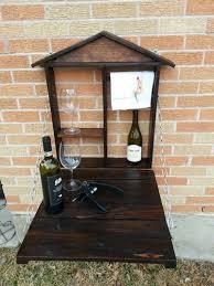 Pallet Furniture Outdoor Bar Pallet Fold Down Outdoor Bar7 Jpg