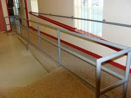 Handicap Handrail Handicap Railing A Complete Assembly