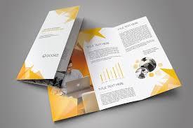 adobe tri fold brochure template corporate trifold brochure by orcshape on creativemarket brochure