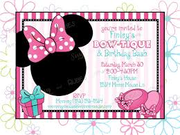 minnie s bowtique minnie mouse inspired birthday invitation and thank you note