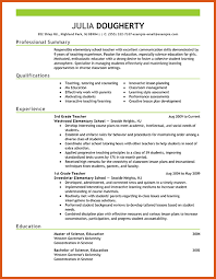 Education Resume Sample by Teacher Resume Samples General Resumes
