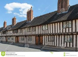 tudor style buildings royalty free stock images image 30628379