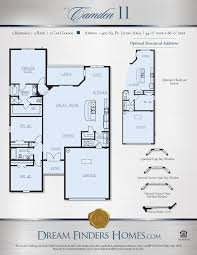 camden floor plan camden ii dream finders homes