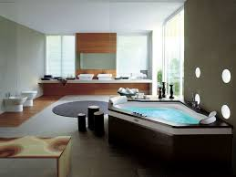 luxury bathroom designs gallery black stained wooden frame glass