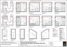 Bathroom Design Dimensions by Mesmerizing Small 34 Bathroom Floor Plans Homely Inpiration