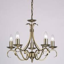 Antique Brass Ceiling Light Endon 2030 5an Antique Brass Ceiling Light