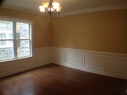 Chair Rails In Dining Room by View Of Formal Dining Room From The Doorway Nice Chair Rail With