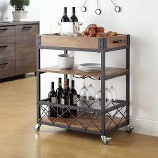 eastfield kitchen cart with wood top cottage pinterest