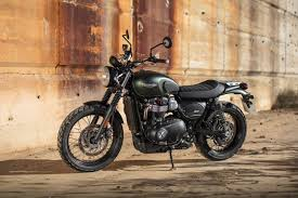 triumph street scrambler the bike shed