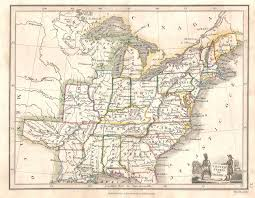 Map Of The Eastern United States by 1820 U0027s Pennsylvania Maps