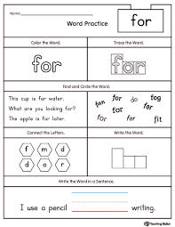 free printable english reading worksheets for kindergarten high