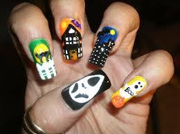 halloween nail art design tutorial youtube