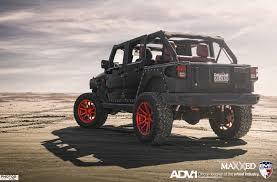 custom jeep red adv 1 dp 2x jeep wranglers evs motors maxxed