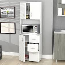 Kitchen Storage Furniture Pantry Kitchen Room Design Hairy Microwave Cupboard Glass Door Panel