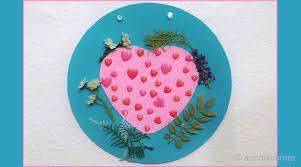 Valentine S Day Desk Decor by Diy Hearts Wall Decoration For Valentine U0027s Day U2013 Aim Diy Corner