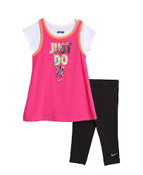 new nike baby and toddler 2 pink t shirt black