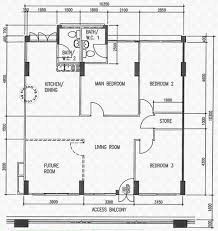 floor plans for 252 choa chu kang avenue 2 s 680252 hdb details