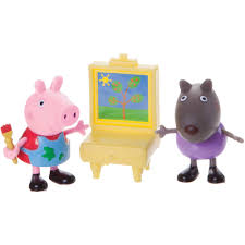 peppa pig painting class play pack walmart