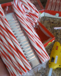Candy Vases Centerpieces Candy Cane Vase Candy Cane Vase Vase Ideas Table Centerpiece