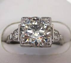 vintage square engagement rings antique looking engagement rings square 4 ifec ci