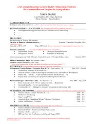 resume sle for management trainee positions special needs education children with exceptionalities resume