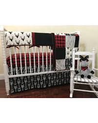 amazing deal on baby boy bedding set adrian deer baby bedding red